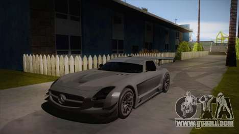 Mercedes-Benz SLS (AMG) GT3 for GTA San Andreas left view