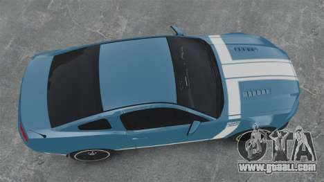 Ford Mustang BOSS 2013 for GTA 4 right view