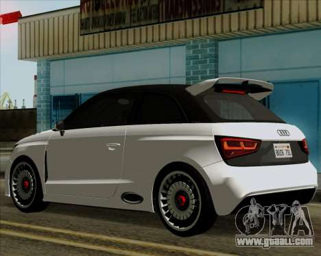 Audi A1 Clubsport Quattro for GTA San Andreas back left view