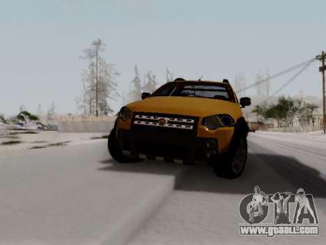 Fiat Strada Adv Locker for GTA San Andreas