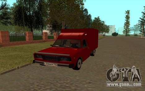IZH 27175 for GTA San Andreas