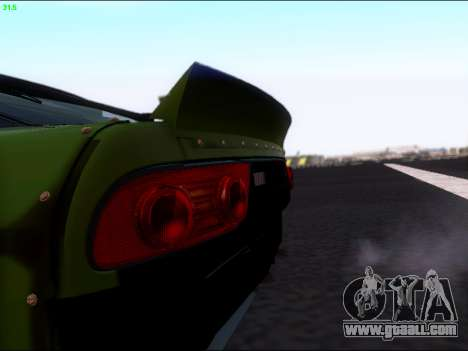 Nissan 180sx Takahiro Kiato for GTA San Andreas back view