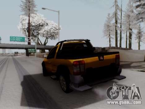 Fiat Strada Adv Locker for GTA San Andreas back left view