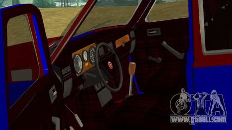 Gaz-24 Volga Fun for GTA San Andreas inner view