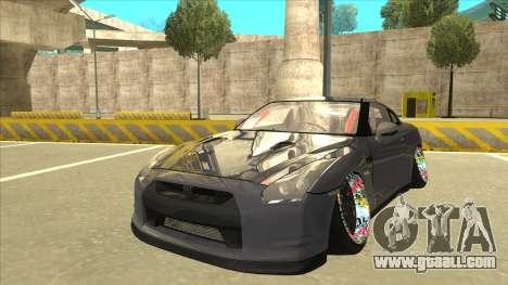 Nissan GT-R R35 Camber Killer for GTA San Andreas