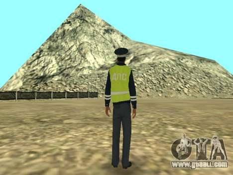 Skin The Employee DPS for GTA San Andreas third screenshot