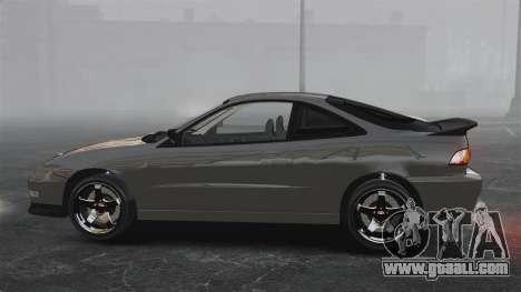 Acura Integra Type-R Domo Kun for GTA 4 left view