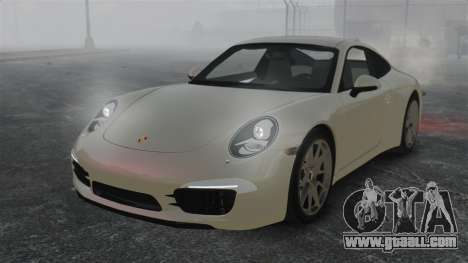 Porsche 911 Carrera S 2012 v2.0 for GTA 4