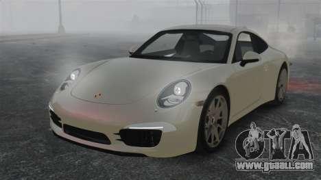 Porsche 911 Carrera S 2012 v2.0 for GTA 4