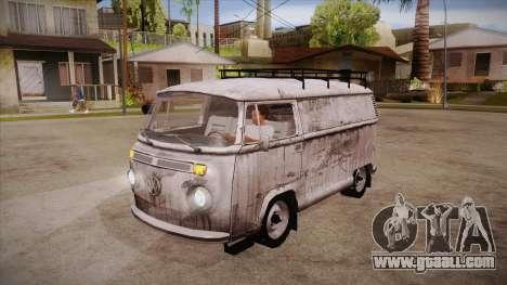 Volkswagen Transporter T2 Custom for GTA San Andreas