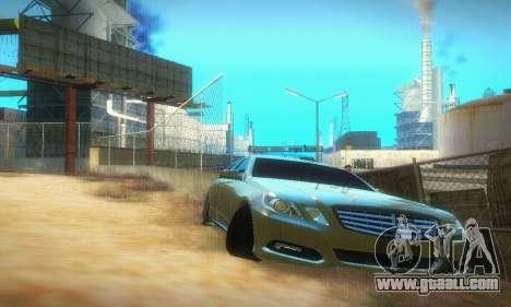 Mercedes-Benz E350 Wagon for GTA San Andreas left view
