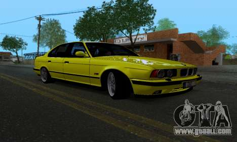 BMW M5 E34 IVLM v2.0.2 for GTA San Andreas back view