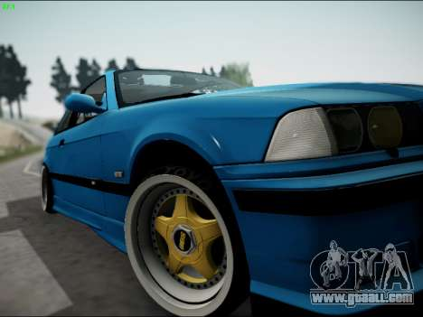 BMW M3 E36 Stance for GTA San Andreas side view