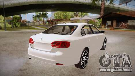 VW Jetta GLI 2013 for GTA San Andreas right view