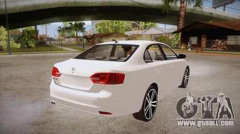 VW Jetta GLI 2013 for GTA San Andreas right view
