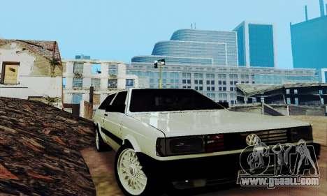 VW Parati GLS 1988 for GTA San Andreas inner view