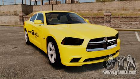 Dodge Charger 2011 Taxi for GTA 4