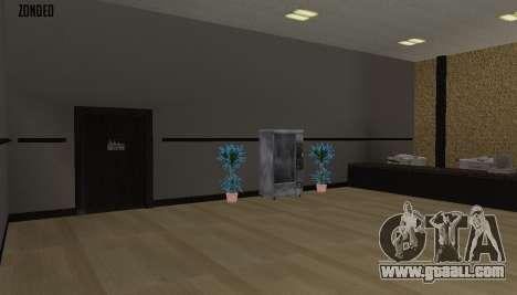 Retekstur the Interior of City Hall for GTA San Andreas eighth screenshot