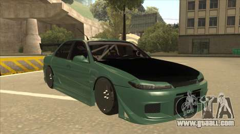 Proton Wira with s15 front end for GTA San Andreas left view