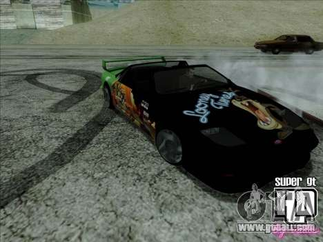 Super GT HD for GTA San Andreas inner view