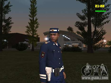 DPS Sergeant for GTA San Andreas second screenshot