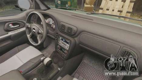Chevrolet TrailBlazer SS 2008 for GTA 4 inner view