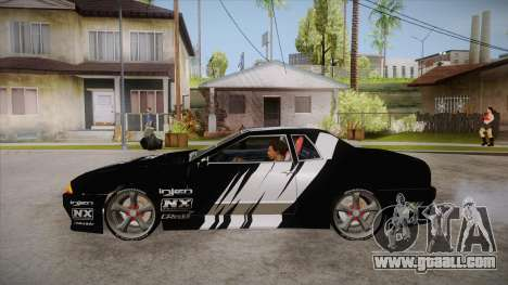Elegy Touge Tune for GTA San Andreas left view