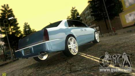Caddy DTS DUB for GTA Vice City left view