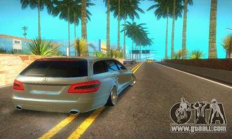 Mercedes-Benz E350 Wagon for GTA San Andreas back view