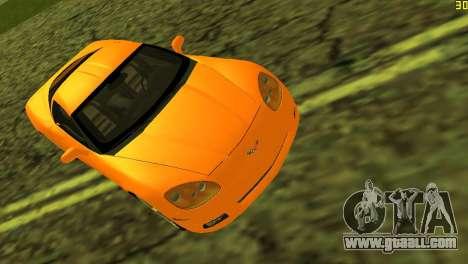 Chevrolet Corvette C6 for GTA Vice City inner view