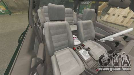 Mitsubishi Galant v2.0 for GTA 4 inner view