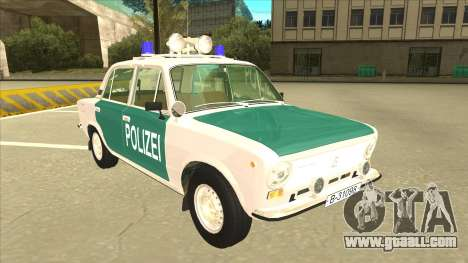 VAZ 21011 DDR police for GTA San Andreas left view