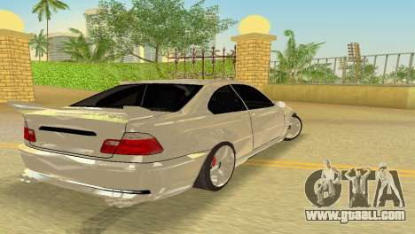 BMW M3 E46 Hamann for GTA Vice City inner view