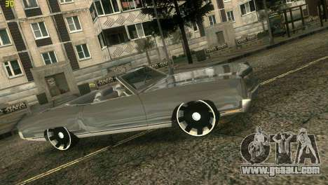 Chevy Monte Carlo for GTA Vice City back left view