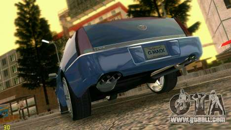 Caddy DTS DUB for GTA Vice City right view
