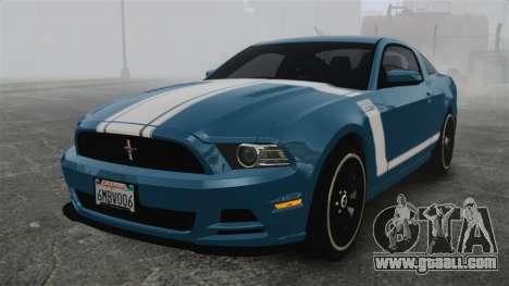 Ford Mustang BOSS 2013 for GTA 4