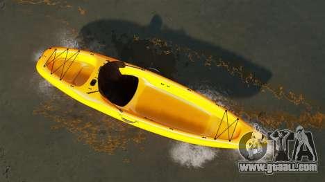 Canoeing for GTA 4 back left view