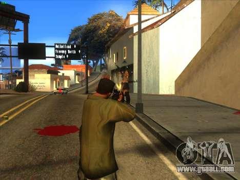 AK-103 for GTA San Andreas fifth screenshot