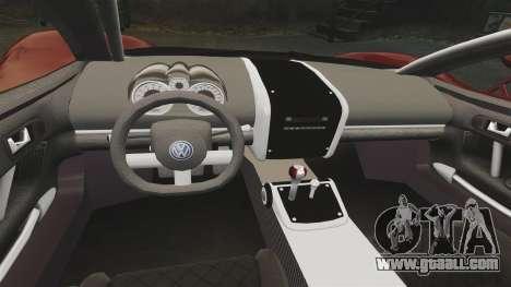 Volkswagen W12 Nardo 2001 [EPM] for GTA 4 inner view