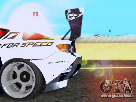 Mazda RX-8 NFS Team Mad Mike for GTA San Andreas right view