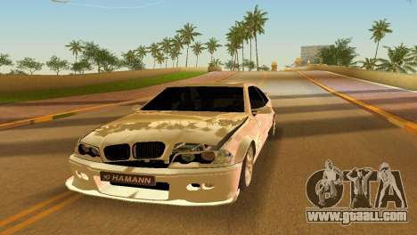BMW M3 E46 Hamann for GTA Vice City side view