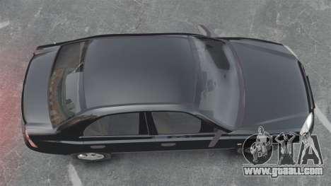 Hyundai Accent Admire for GTA 4 right view