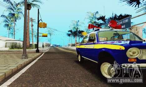 VAZ 21011 Propaganda for GTA San Andreas side view
