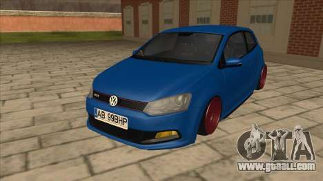 Volkswagen Polo GTi Euro Stance 2012 for GTA San Andreas