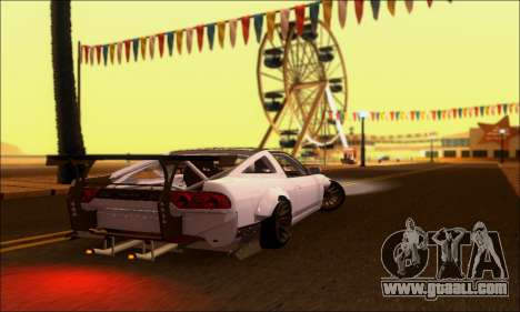 Nissan 380SX BenSopra for GTA San Andreas back left view