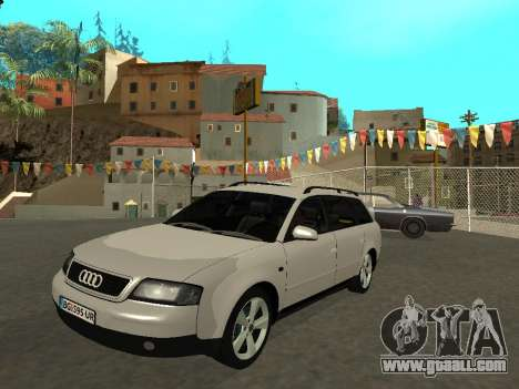 Audi A6 (C5) Avant for GTA San Andreas
