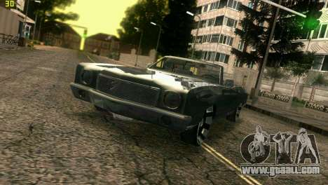 Chevy Monte Carlo for GTA Vice City inner view