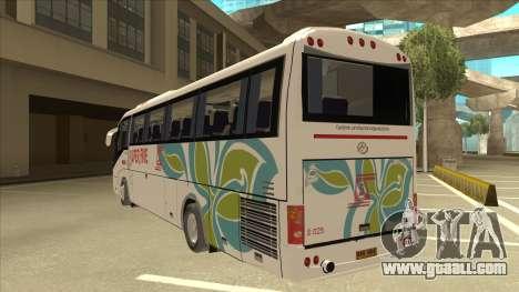 Higer KLQ6129QE - Super Five Transport S 025 for GTA San Andreas back view