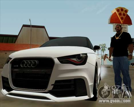 Audi A1 Clubsport Quattro for GTA San Andreas side view