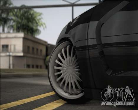 Dodge Charger SRT8 for GTA San Andreas back view